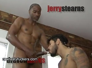 rawnastyfuckers;black;bareback;latino;tattoos;big-cocks;muscle;oral;rimming,Latino;Gay;Interracial Training Torres