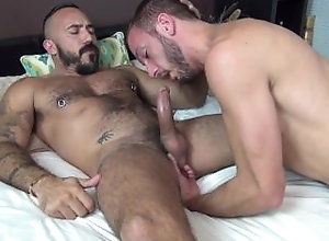 bull;beard;deepthroat;face-fuck;tattoo;manscaping;abs;muscle-butt;daddy;raw-sex;bareback;hard-anal-sex;pounding;cum-while-being-fucked,Bareback;Daddy;Gay Bareback Bayou...