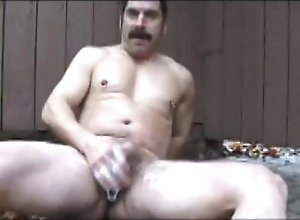 cum,masturbate,gay,moustache,gay outdoor cumpulation