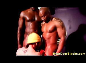 black,interracial,blowjob,ebony,gay,muscle,homo,homosexual,muscular,rimming,rimjob,gaysex,Gay Interracial gay...