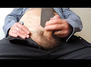 cumshot,handjob,mature,closeup,hairy,masturbation,solo,office,gay,cu,gay-masturbation,gay Mature Office...