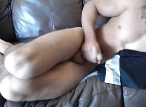 young-guy;muscle-stud;big-cock;cum;showing-off;showing-hole;tattoos;big-cumshot;cute;great-smile;bubble-butt,Solo Male;Gay;Jock Young Muscle Guy...