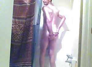 gay;twink;dick;ass;solo-male;shower,Solo Male;Gay;Amateur shower time