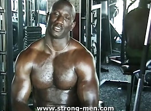 black;gay;ebony;muscle;hunk,Gay Muscle Ebony