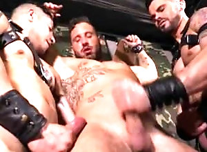 milked;milking;handjob;cumshot;jerked-off;restrained,Muscle;Gay Hunk restrained...