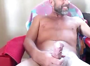 huge-cumshot;huge-cum-load;cumshot;mature-man-big-dick;beard;bearded-daddy;pubes;semen;sperm;masturbation;daddy;balls;huge-uncut-cock,Daddy;Big Dick;Gay Old man with...