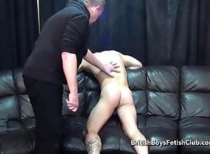 old,spanking,tattoo,punishment,stud Cal Spanked For...