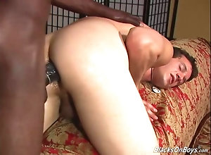 blowjob,hardcore,interracial,black,ebony,gay First timer white...