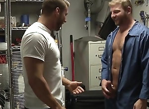 Gay,Gay Muscled,Big Dicks at School,gay,muscled,men,tattoo,rimming,doggy style,bearded,gay fuck gay,gay porn Janitor's...