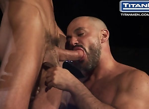 titanmen;big-cock;titanporn;big-dick;threesome;daddies;muscle-stud;huge-dick;blowjob;jocks;bald;cock-sucking;muscle-gay;outdoor-sex;muscle;athletic;bear,Big Dick;Pornstar;Group;Gay;Public,Bryan Slater;David Anthony;Gio Forte Swelter: Bryan...