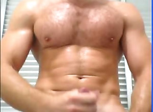 muscle;cumshot;hot;solo-male;hunk,Muscle;Solo Male;Gay CAM: Muscle Daddy
